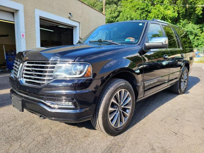 2017 BLACK LINCOLN NAVIGATOR SELECT (5LMJJ2JT0HE) with an 3.5L engine, Automatic transmission, located at 7981 Paxton Street, Harrisburg, PA, 17111, (717) 561-2926, 40.261490, -76.749229 - Photo #0