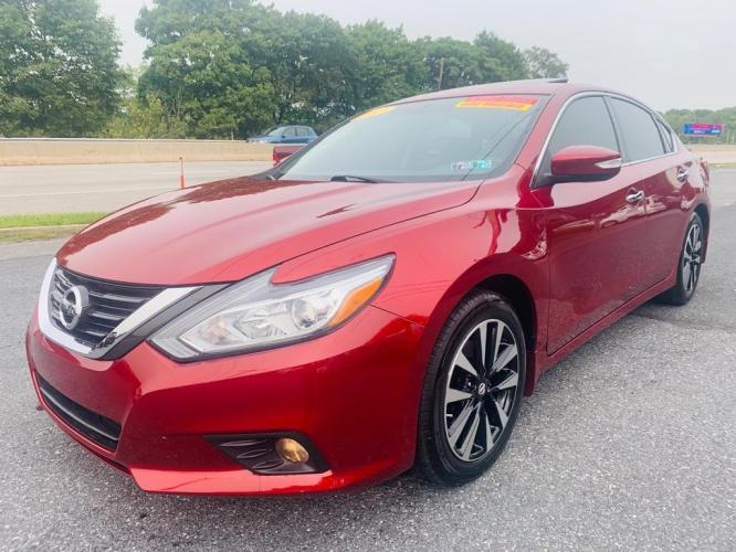 2017 RED NISSAN ALTIMA 2.5 (1N4AL3AP0HC) with an 2.5L engine, Continuously Variable transmission, located at 7981 Paxton Street, Harrisburg, PA, 17111, (717) 561-2926, 40.261490, -76.749229 - Photo #0