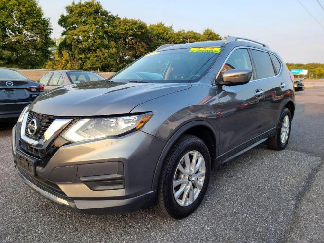 2017 GREY NISSAN ROGUE S (KNMAT2MV7HP) with an 2.5L engine, Continuously Variable transmission, located at 7981 Paxton Street, Harrisburg, PA, 17111, (717) 561-2926, 40.261490, -76.749229 - Photo #0
