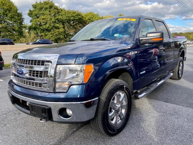 2013 BLUE FORD F150 SUPERCREW (1FTFW1ET6DK) with an 3.5L engine, Automatic transmission, located at 7981 Paxton Street, Harrisburg, PA, 17111, (717) 561-2926, 40.261490, -76.749229 - Photo #0
