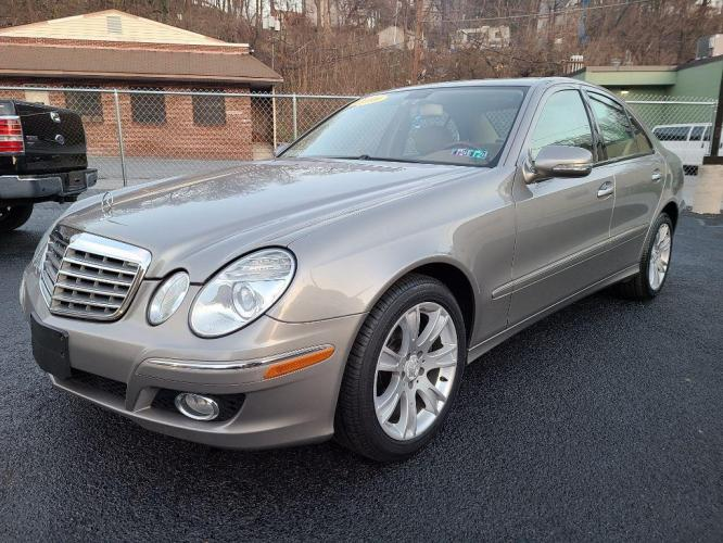 2009 SILVER MERCEDES-BENZ E-CLASS E350 4MATIC (WDBUF87X59B) with an 3.5L engine, Automatic transmission, located at 7981 Paxton Street, Harrisburg, PA, 17111, (717) 561-2926, 40.261490, -76.749229 - Photo #0