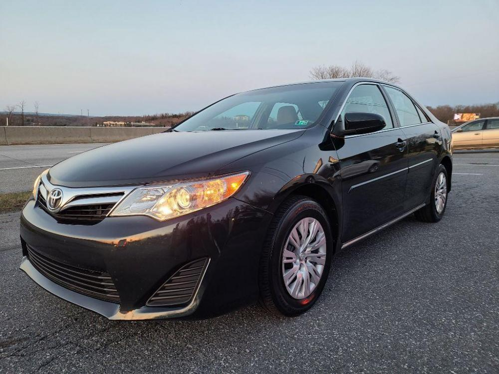 2014 GREEN TOYOTA CAMRY LE (4T4BF1FK3ER) with an 2.5L engine, Automatic transmission, located at 7981 Paxton Street, Harrisburg, PA, 17111, (717) 561-2926, 40.261490, -76.749229 - Photo #0