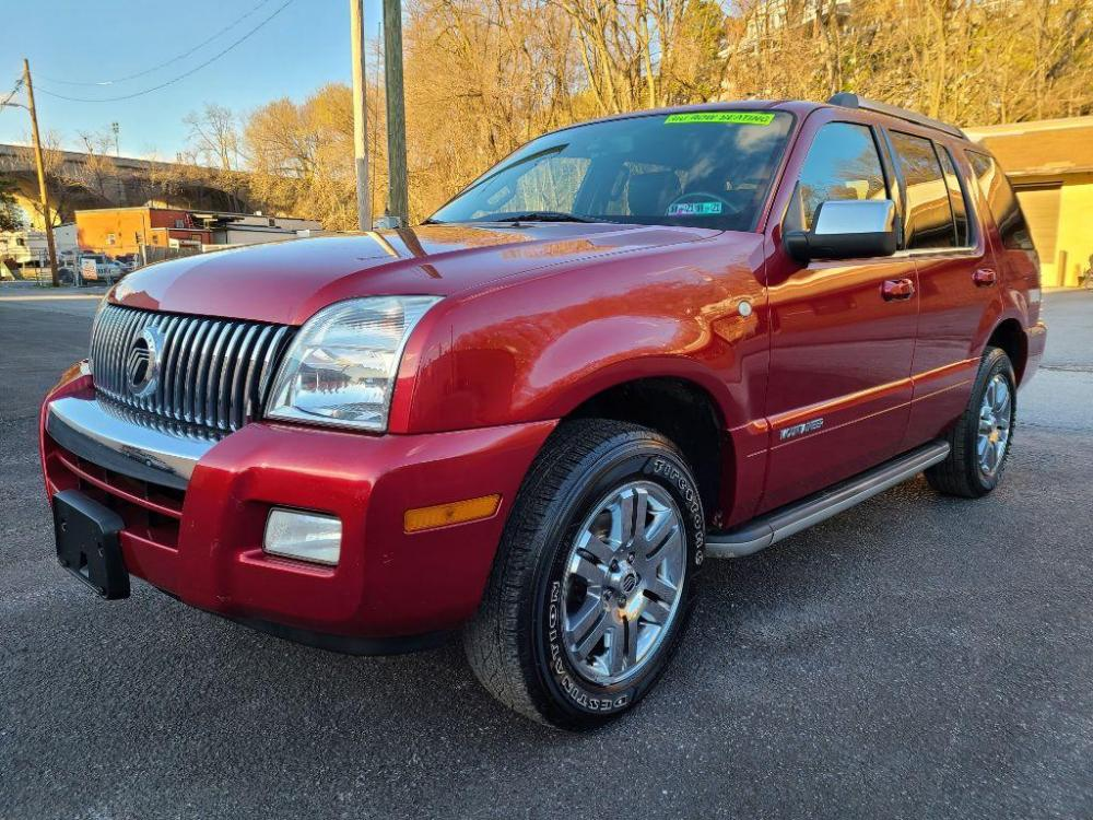 2008 RED MERCURY MOUNTAINEER PREMIER (4M2EU38E68U) with an 4.0L engine, Automatic transmission, located at 7981 Paxton Street, Harrisburg, PA, 17111, (717) 561-2926, 40.261490, -76.749229 - Photo #0