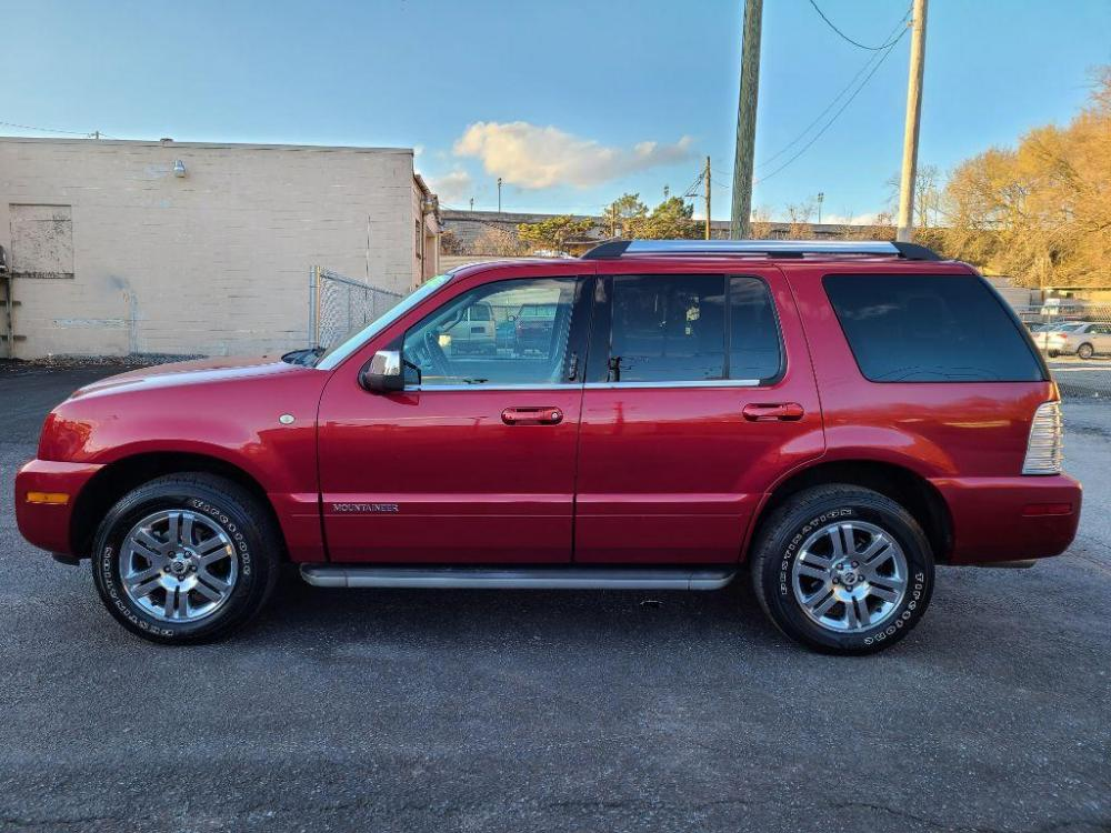 2008 RED MERCURY MOUNTAINEER PREMIER (4M2EU38E68U) with an 4.0L engine, Automatic transmission, located at 7981 Paxton Street, Harrisburg, PA, 17111, (717) 561-2926, 40.261490, -76.749229 - Photo #1