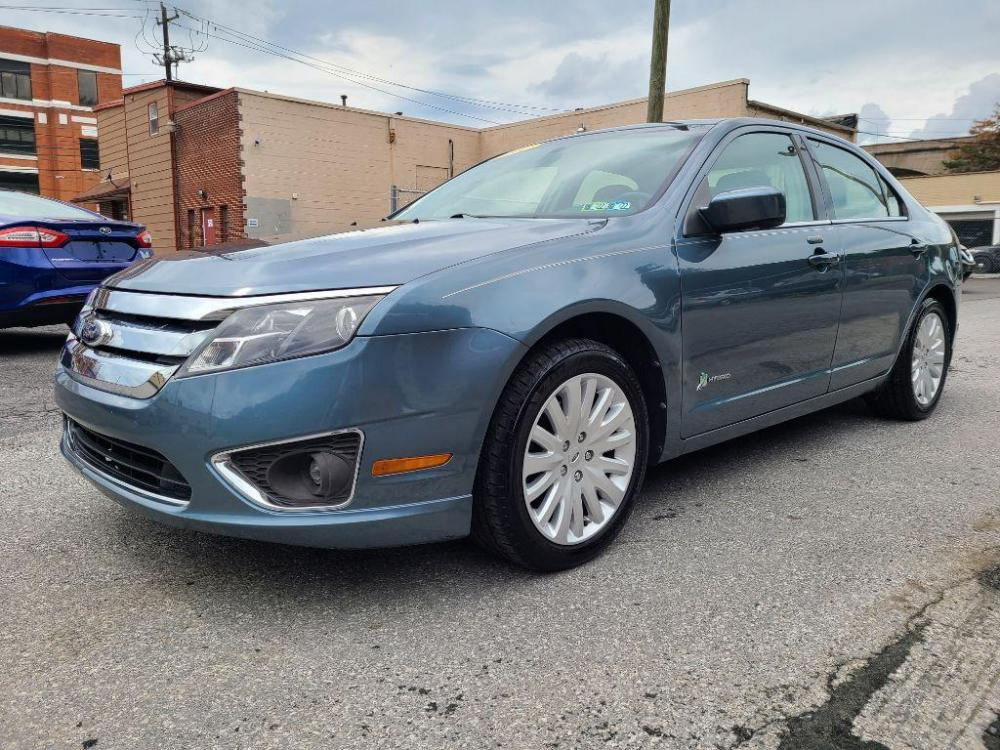2012 BLUE FORD FUSION HYBRID (3FADP0L30CR) with an 2.5L engine, Continuously Variable transmission, located at 7981 Paxton Street, Harrisburg, PA, 17111, (717) 561-2926, 40.261490, -76.749229 - Photo #0
